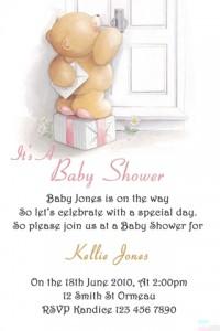 Baby Shower 11 invite