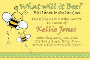 Baby Shower 16 invite