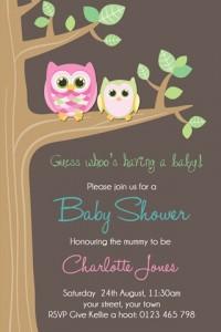 Baby shower 28 invite